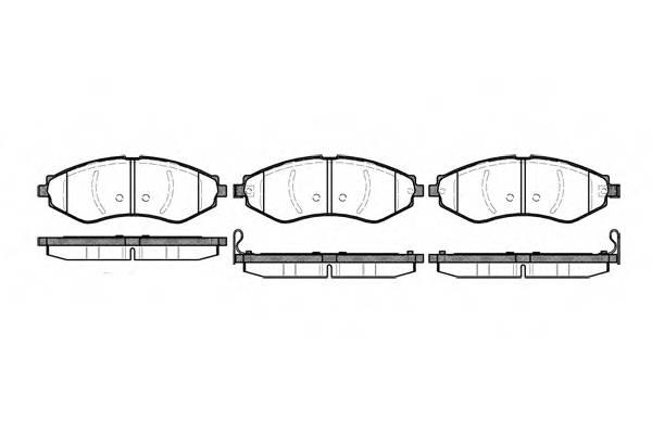 Тормозная система Гальмiвнi колодки, к-кт. PAGID арт. 264522