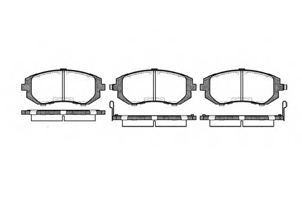 Тормозная система Гальмiвнi колодки, к-кт. PAGID арт. 295102
