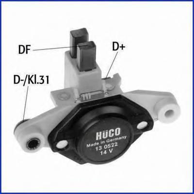 Реле регулятор (щетки) HUCO 130522