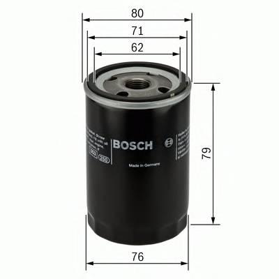 Масляные фильтры Фільтр масляний BOSCH арт. 0451102056