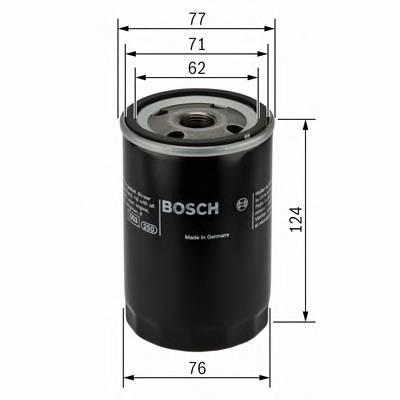 Масляные фильтры Фільтр масляний BOSCH арт. 0451103259