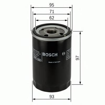 Масляные фильтры Фільтр масляний BOSCH арт. 0986452003