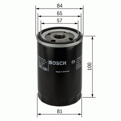 Масляные фильтры Фільтр масляний BOSCH арт. 0986452023