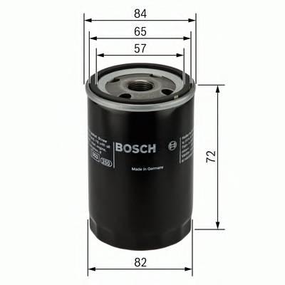 Масляные фильтры Фільтр масляний BOSCH арт. 0986452035
