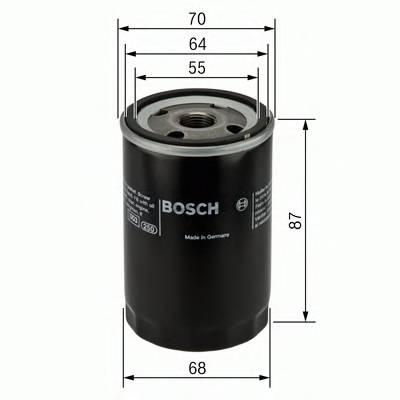Масляные фильтры Фільтр масляний BOSCH арт. 0986452041