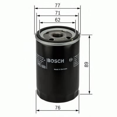 Масляные фильтры Фільтр масляний BOSCH арт. 0986452044