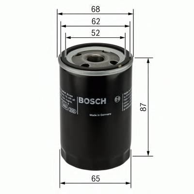 Масляные фильтры Фільтр масляний BOSCH арт. 0986452060