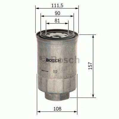 Топливные фильтры Топливный фильтр BOSCH арт. F026402025