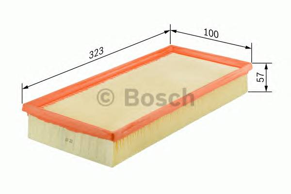 Воздушные фильтры Фільтр повітря BOSCH арт. 1457433260
