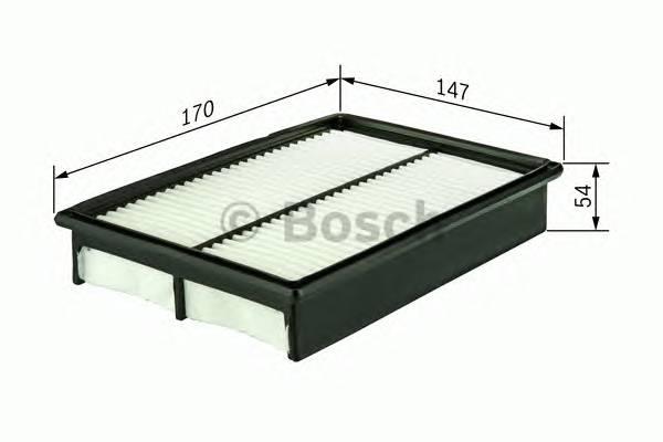 Воздушные фильтры Фільтр повітря BOSCH арт. F026400054