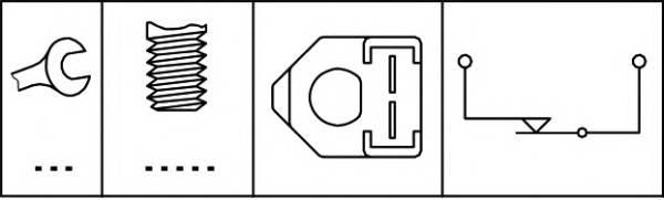 датчик включения стоп-сигнала HELLA 6DF003263081