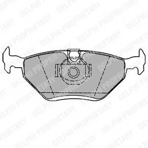Гальмівні колодки, дискові PAGID арт. LP1423