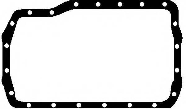Прокладка пiддона Renault 2.0/2.1D/TD/2.2 J5R/J6R/J8S/J7R/J7 REINZ 711297200