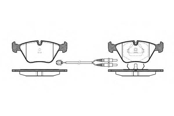 Тормозная система Гальмiвнi колодки, к-кт. PAGID арт. 227022