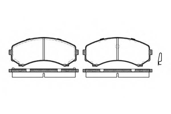 Тормозная система Гальмiвнi колодки, к-кт. PAGID арт. 239600