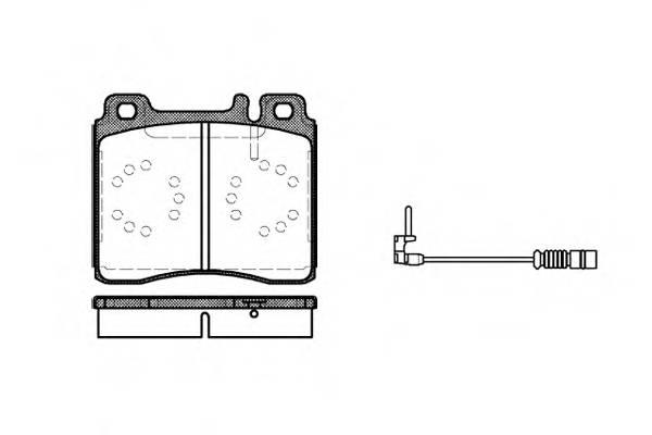 Тормозная система Гальмiвнi колодки, к-кт. PAGID арт. 242002