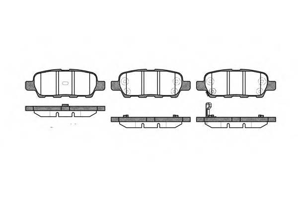 Тормозная система Гальмiвнi колодки, к-кт. PAGID арт. 287601