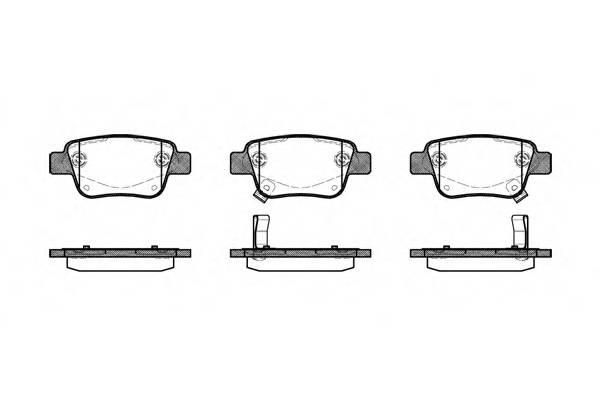 Тормозная система Гальмiвнi колодки, к-кт. PAGID арт. 2104702
