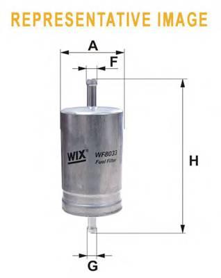 Фильтр топливный BOSCH арт. WF8191