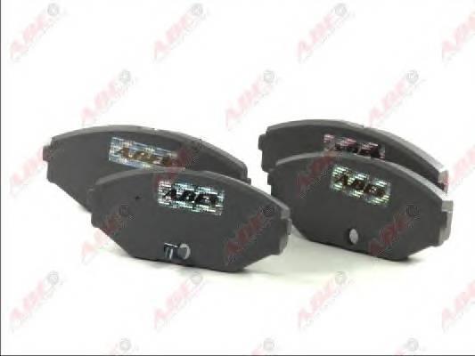 Гальмівні колодки, дискові ABE арт. C11065ABE
