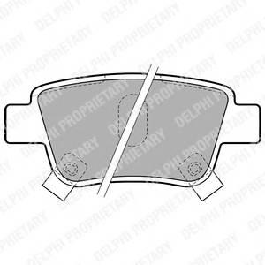 Гальмівні колодки, дискові PAGID арт. LP1785