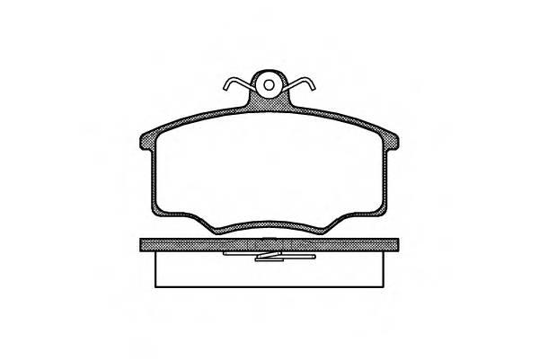 Тормозная система Гальмiвнi колодки, к-кт. PAGID арт. 204600