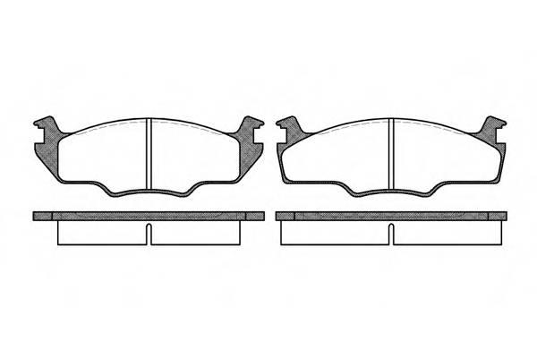 Тормозная система Гальмiвнi колодки, к-кт. PAGID арт. 212110