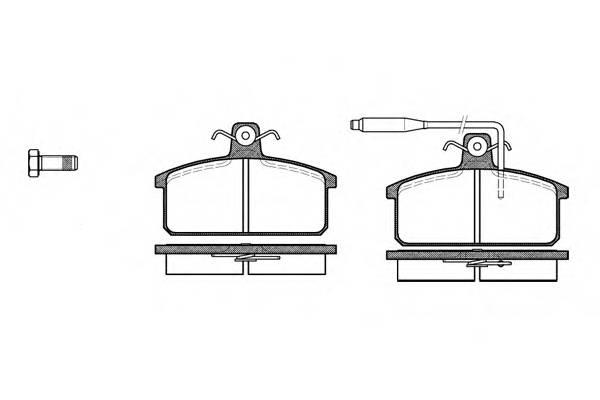 Тормозная система Гальмiвнi колодки, к-кт. PAGID арт. 212802