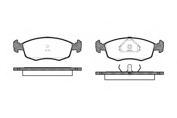 Тормозная система Гальмiвнi колодки, к-кт. PAGID арт. 217200