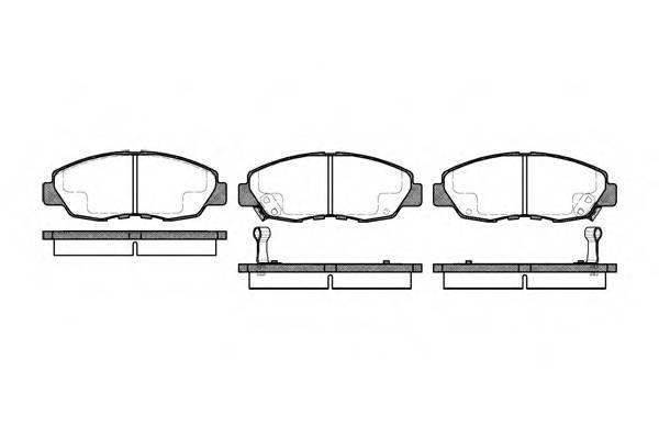 Тормозная система Гальмiвнi колодки, к-кт. PAGID арт. 232402