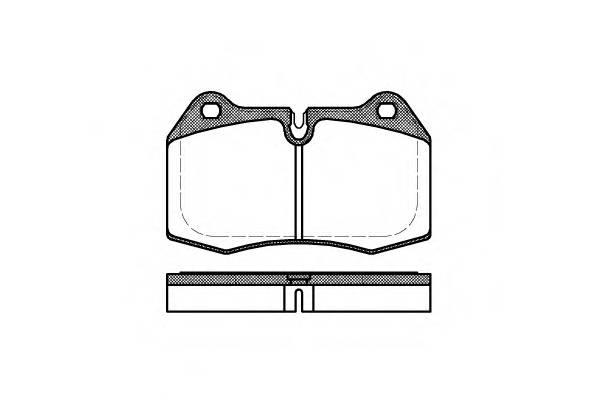 Тормозная система Гальмiвнi колодки, к-кт. PAGID арт. 244100