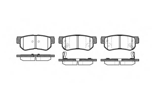 Тормозная система Гальмiвнi колодки, к-кт. PAGID арт. 274602