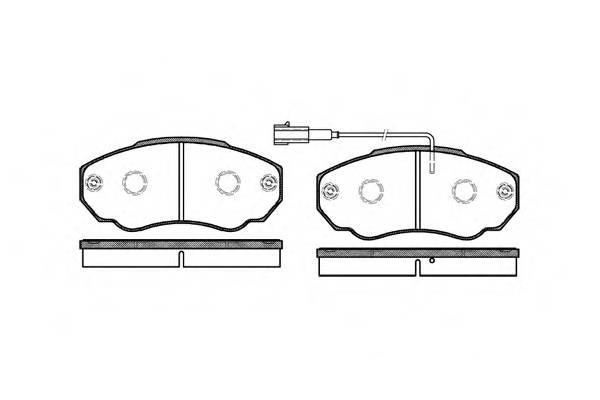 Тормозная система Гальмiвнi колодки, к-кт. PAGID арт. 296001
