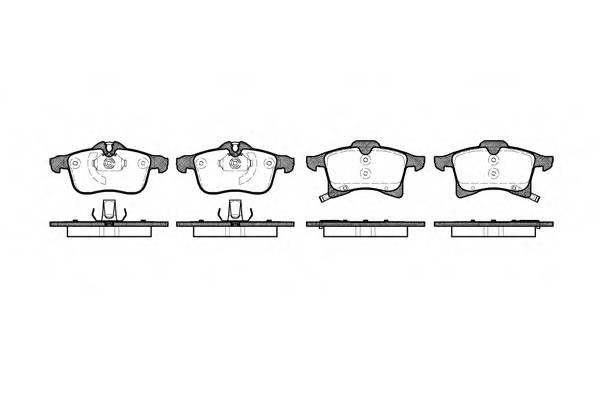 Тормозная система Гальмiвнi колодки, к-кт. PAGID арт. 2103602
