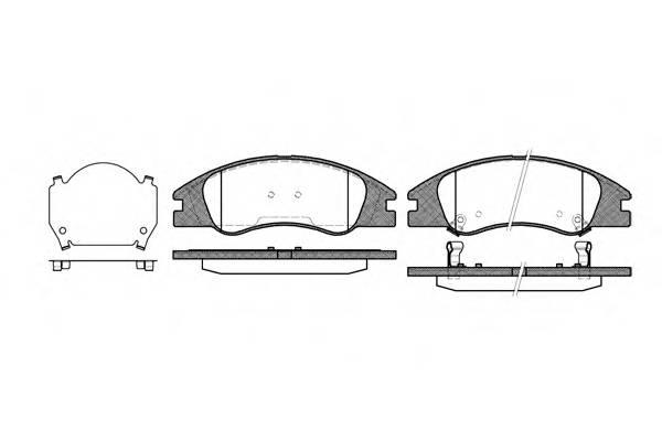 Тормозная система Гальмiвнi колодки, к-кт. PAGID арт. 2113402