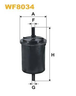 Фильтр топливный (PP 831/1) MEYLE арт. WF8034