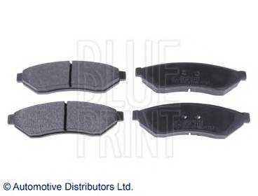 Тормозные колодки Тормозные колодки дисковые BLUEPRINT арт. ADG042144