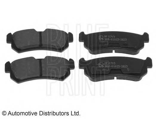 Тормозные колодки Тормозные колодки задние LACETTI PAGID арт. ADG04280