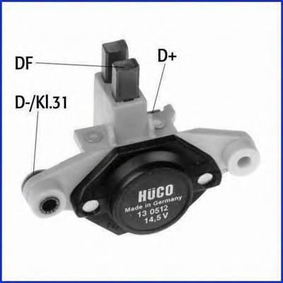 реле регулятор (щетки) HUCO 130512