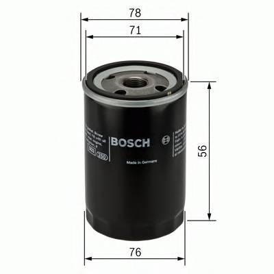 Масляные фильтры Фільтр масляний BOSCH арт. 0451103235