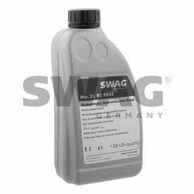 Автотрансмиссионное масло (ATF) ASIAN-WARNER (красное) 1L SWAG 81929934