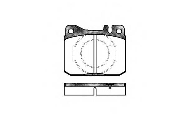 Тормозная система Гальмiвнi колодки, к-кт. PAGID арт. 201040