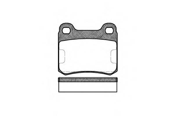 Тормозная система Гальмiвнi колодки, к-кт. PAGID арт. 215710
