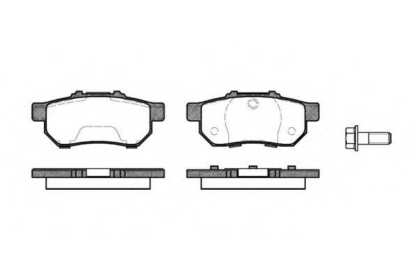 Тормозная система Гальмiвнi колодки, к-кт. PAGID арт. 223320