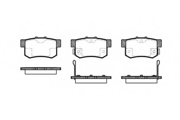 Тормозная система Гальмiвнi колодки, к-кт. PAGID арт. 232502