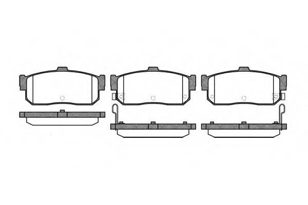 Тормозная система Гальмiвнi колодки, к-кт. PAGID арт. 236622