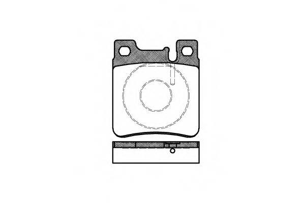 Тормозная система Гальмiвнi колодки, к-кт. PAGID арт. 240700