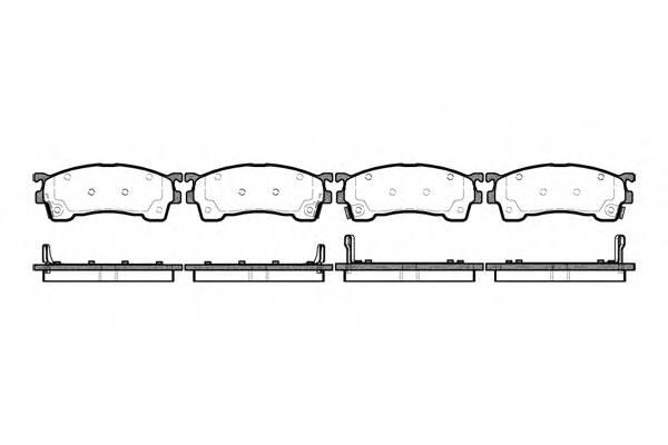 Тормозная система Гальмiвнi колодки, к-кт. PAGID арт. 241504