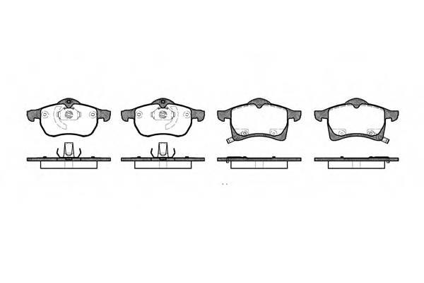 Тормозная система Гальмiвнi колодки, к-кт. PAGID арт. 268302