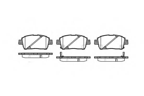 Тормозная система Гальмiвнi колодки, к-кт. PAGID арт. 274002